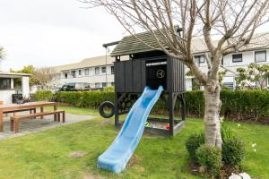 Children's play area at Airport Gateway Motor Lodge