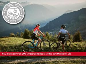 Biking at or in the surroundings of Engadiner Boutique-Hotel GuardaVal