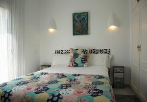 Cama o camas de una habitación en Casas Plus Costa Brava