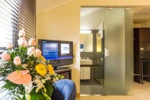 TV o dispositivi per l'intrattenimento presso Motel K