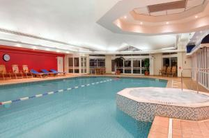 The swimming pool at or near Hilton Leicester Hotel
