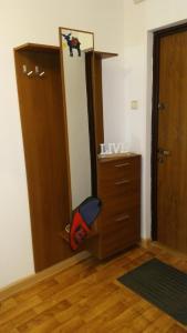 A bathroom at Apartament Polanki 14