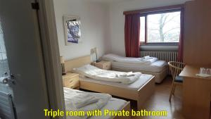 Cama o camas de una habitación en Travel Inn