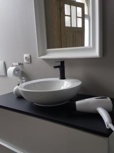Een badkamer bij 't Zandmanneke