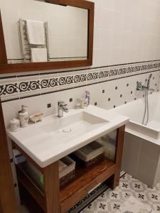 Ванная комната в Лофт у моря