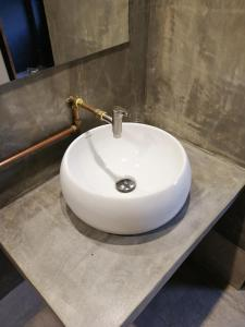 A bathroom at The Rise Room