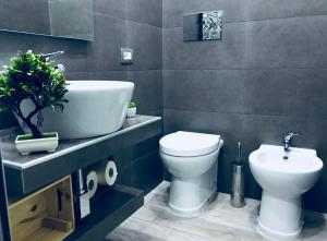 A bathroom at MariaFrancesca's House