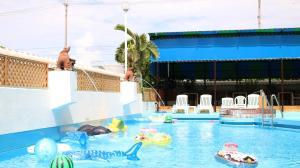 The swimming pool at or near Hotel Miyahira