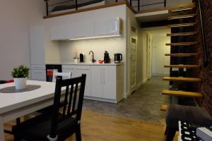 Kuchnia lub aneks kuchenny w obiekcie Apartament Elementos