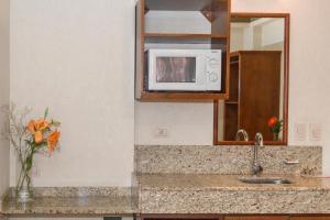 A bathroom at O2 Hotel Buenos Aires