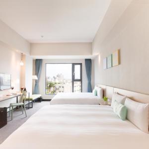 里亞行旅房間的床
