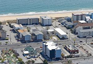 A bird's-eye view of Country Inn & Suites by Radisson Ocean City