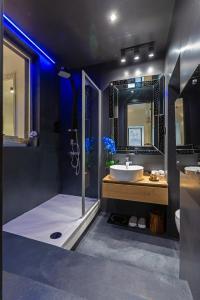A bathroom at B&B Apartments and Studios Lanii