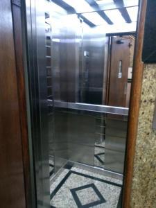 A bathroom at Hotel Macabu