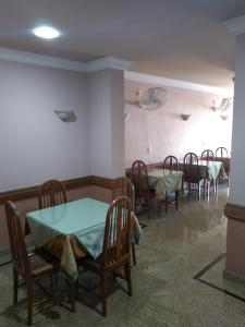 A restaurant or other place to eat at Hotel Macabu