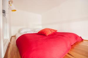 Łóżko lub łóżka w pokoju w obiekcie Elegant Apartment Royal Castle