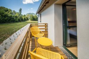 Balcon ou terrasse dans l'établissement Archipel Volcans