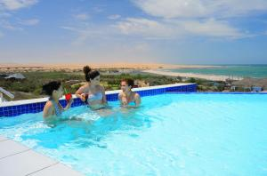 The swimming pool at or near Beach Hotel Swakopmund