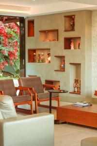 The lounge or bar area at Caruaru Park Hotel