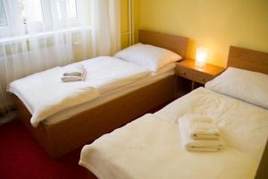 Postel nebo postele na pokoji v ubytování Vila Charleston