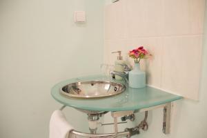 Koupelna v ubytování Vila Charleston
