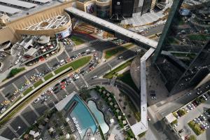 A bird's-eye view of Address Boulevard