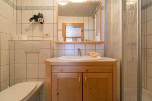 Ein Badezimmer in der Unterkunft Hotel Naggler Weissbriach