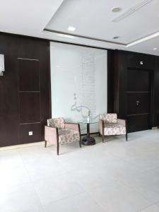 A seating area at Hotel Tiba