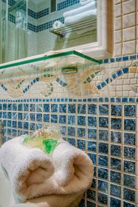 A bathroom at Hostal Zahara