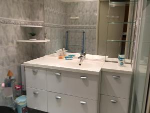 A bathroom at Les Bastides du Soleil