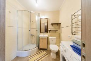 A bathroom at New appartment near Kyiv Airport