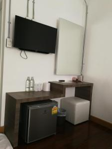 โทรทัศน์และ/หรือระบบความบันเทิงของ F Plus F Hostel