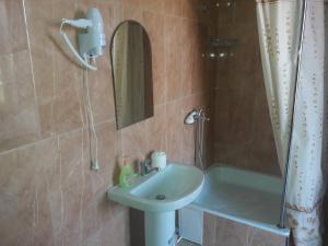 Ванная комната в Радужный Отель