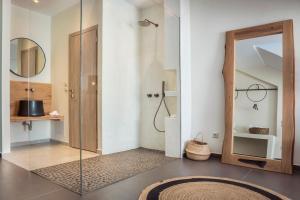 Ванная комната в Argostoli Marina Suites