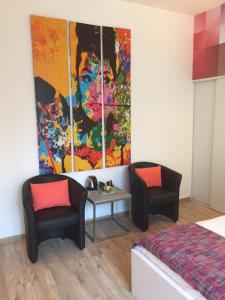A seating area at B11hotel