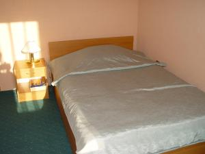 A bed or beds in a room at Hotel Salin