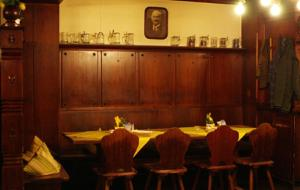A restaurant or other place to eat at Traditionsgasthof Grüner Baum
