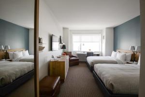 Un ou plusieurs lits dans un hébergement de l'établissement The Study at University City, Study Hotels