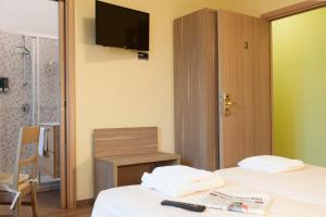 TV o dispositivi per l'intrattenimento presso Hotel Ristorante Piccadilly