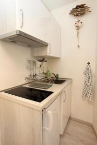 Una cocina o zona de cocina en Apartma Mery