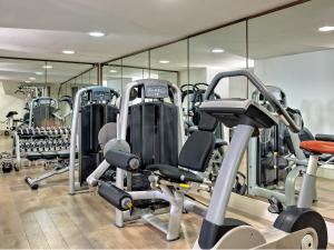 The fitness centre and/or fitness facilities at Augustine, a Luxury Collection Hotel, Prague