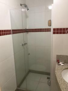 A bathroom at Colatina Plaza Hotel