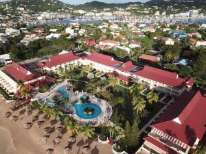A bird's-eye view of Mystique St Lucia by Royalton