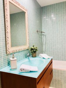 A bathroom at Cavalo Marinho