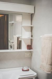 A bathroom at Ristorante Residence Giardini