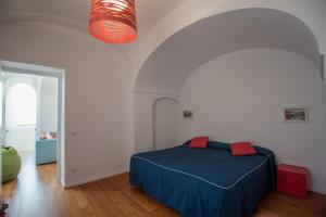 A bed or beds in a room at Villa Theile