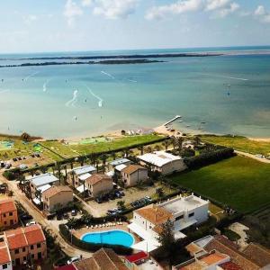 A bird's-eye view of Resort Santa Maria Hotel