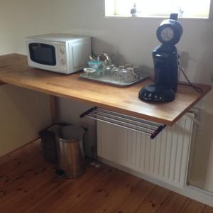 A kitchen or kitchenette at Molen Kapschuur