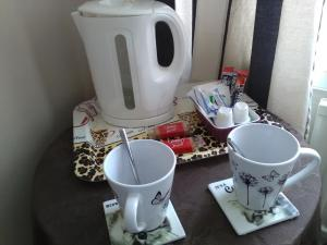 Coffee and tea making facilities at St Hilda Guest House