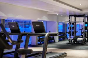 The fitness center and/or fitness facilities at One Aldwych
